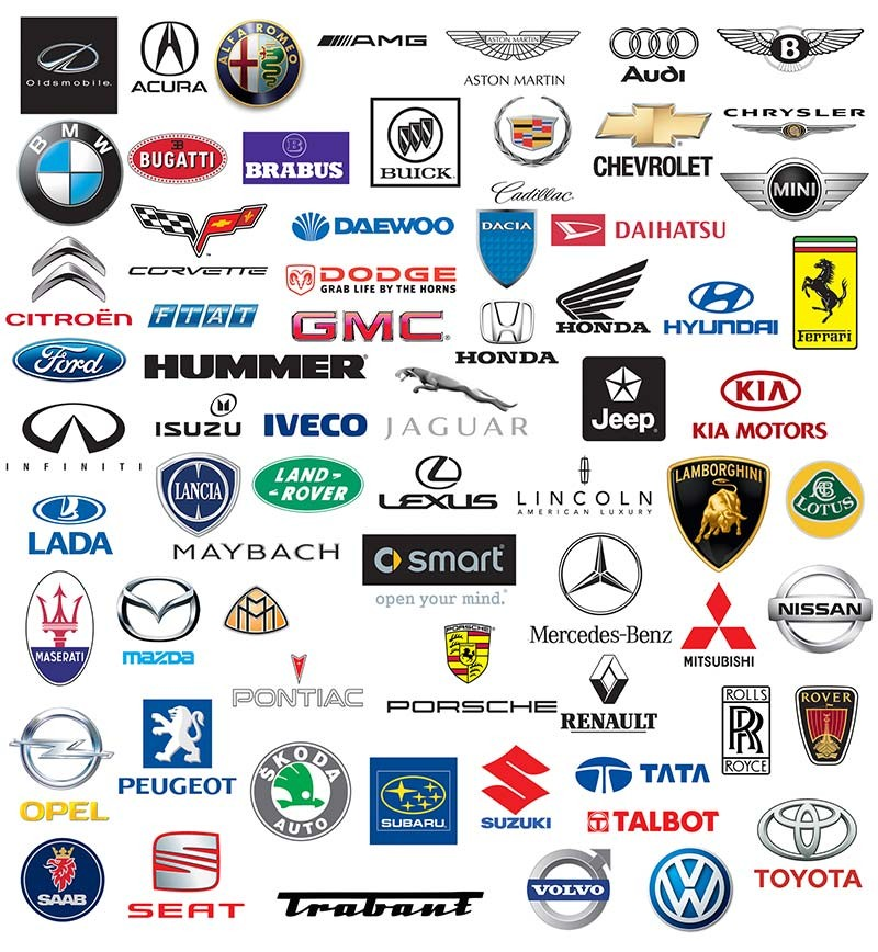 World brand of cars logotypes.https://www.dreamstime.com/choneschones_info